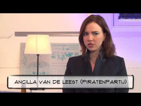 """Ancilla van de Leest (Piratenpartij): """"Privacy is een grondrecht"""""""