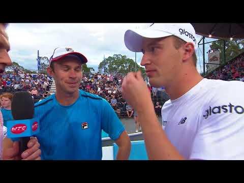 John Peers and Henri Kontinen On Court Interview | World Tennis Challenge 2018