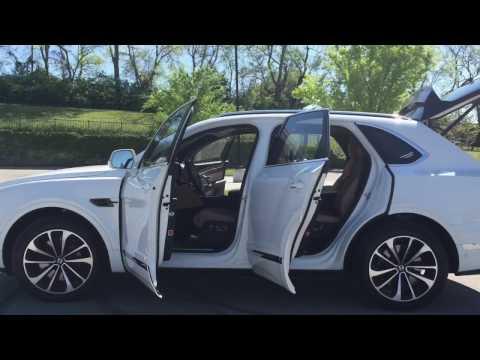 Quick glance at the ALL NEW Bentley Bentayga at Music City Motor Cars