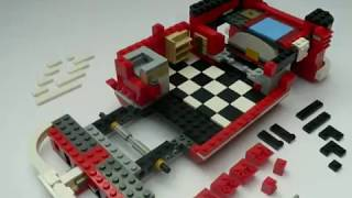 Lego 10220 Volkswagen Camper Vw Bus T1 Stop Motion Aufbau Built