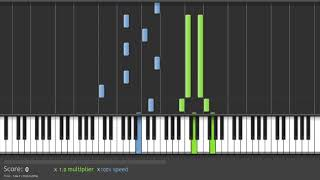 Seiki no kutou (Tacch ) - Saint Seiya Piano Tutorial