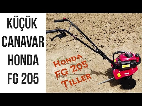 Honda Antrac GX 6.5 HP ilk teslimat detaylı anlatım..