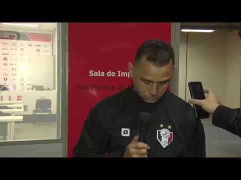 Entrevista com o técnico Fabinho Santos