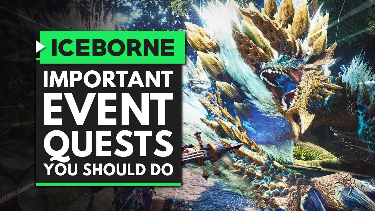 Monster Hunter World Iceborne | Most Important Event Quests You Need to Do Soon! thumbnail