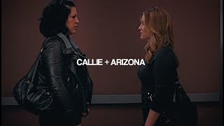 callie and arizona  their story