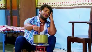 Khesari Lal Yadav Ka Best Comedy Movie Scene Bhojpuri Video MEHANDI LAGA KE RAKHNA