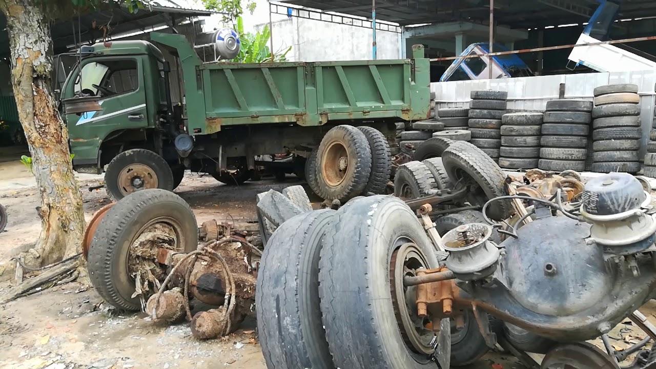 Bãi phụ tùng ôtô cũ Chú Hạnh Long Thành Trung -Hòa Thành -Tây Ninh
