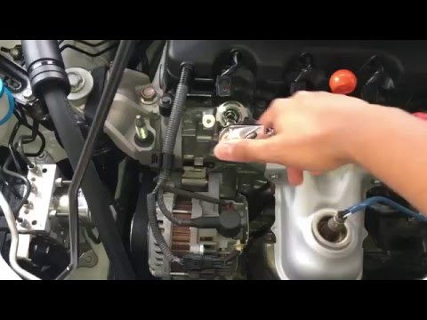 honda civic spark plug change diy youtube