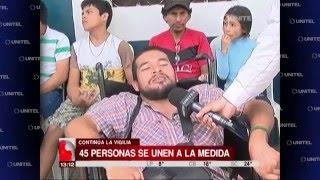 quinto da de vigilia de discapacitados por el incremente de bono