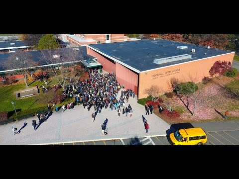 Amherst Public Schools anti-Trump School  Walk Out