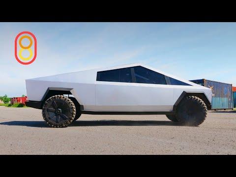 Лучшая копия Tesla CyberTruck в России