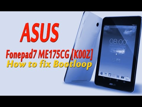 How TO FLASH ASUS Fonepad7 ME175CG K00Z by Mobile Care