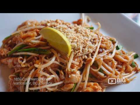 Bua Thai Cuisine, a Thai Restaurant in Vancouver serving best Pad Thai and Thai Food