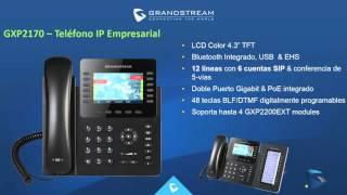 Soluciones completas de Telefonía IP con Grandstream