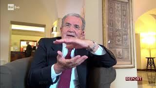 Intervista a Romano Prodi - Report 04/12/2017