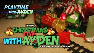 "Christmas morning surprise - ""Christmas Time with Ayden"" - Playtime with Ayden - Episode #9"
