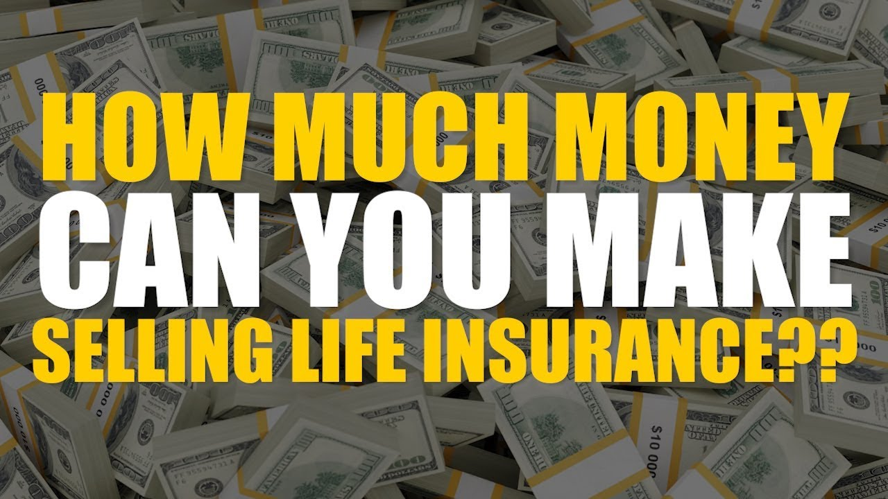 How Much Money Can You Make Selling Life Insurance ...
