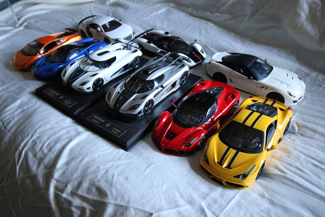 Scale Model Car Collection 1 18 1 24 1 32 1 36 1 48 Youtube