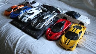 Scale Model Car Collection - 1/18, 1/24, 1/32, 1/36, 1/48