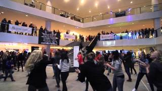 Toucheé Dance Company flashmob stadskantoor Utrecht!