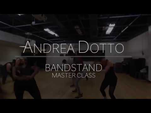 Andrea Dotto teaches BANDSTAND Master Class