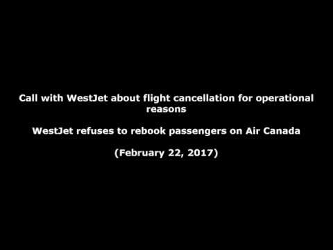 WestJet agents refuse to rebook passengers on Air Canada, contrary to Int'l Tariff Rule 75(C)(2)(c)