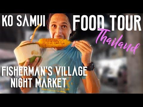 FOOD TOUR KOH SAMUI NIGHT MARKET