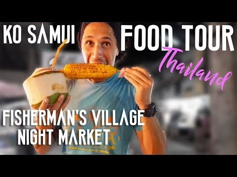 FOOD TOUR KOH SAMUI NIGHT MARKET