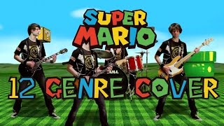 Super Mario Theme Cover | 12 different genres !