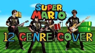 Super Mario Theme Cover | 12 different genres !