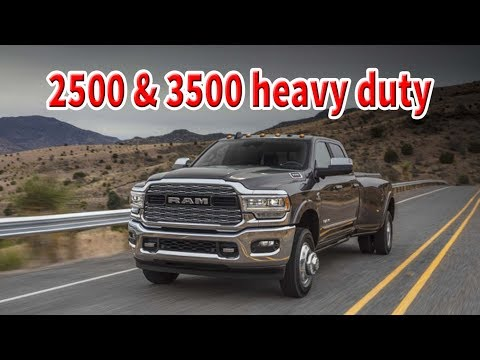 2019 Ram 2500 and 3500 heavy duty First Drive   1,000 lb-ft of torque to work with confidence