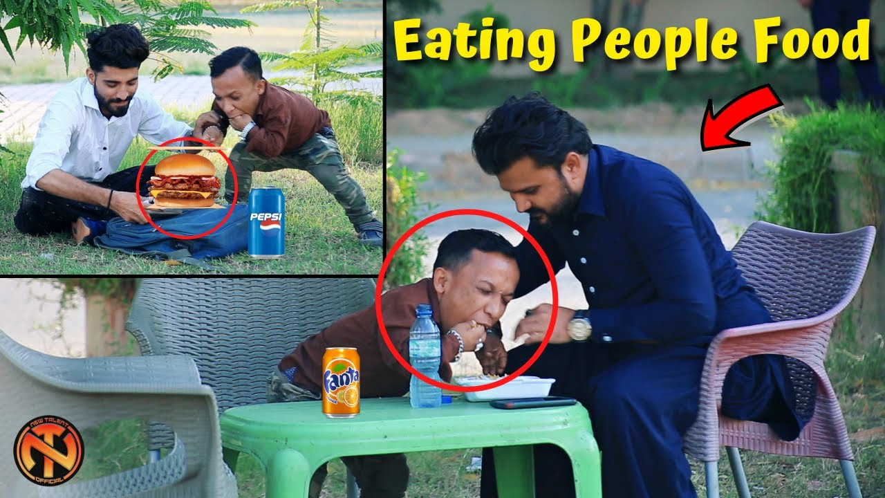 Eating & Snatching Food Prank - Funny Public Prank | New Talent