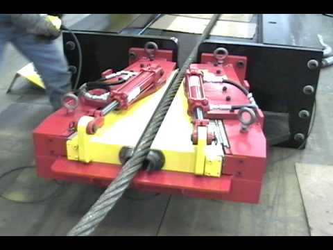 Chant Engineering Wire Rope Grip 0003 - YouTube