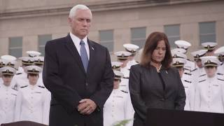 Heroes give us hope - v.p. mike pence at the pentagon national 9/11 memorial