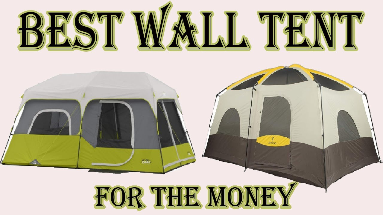 Top 7 Best Wall Tent To Make Your Camping More Exciting | Best Wall Tent  Review