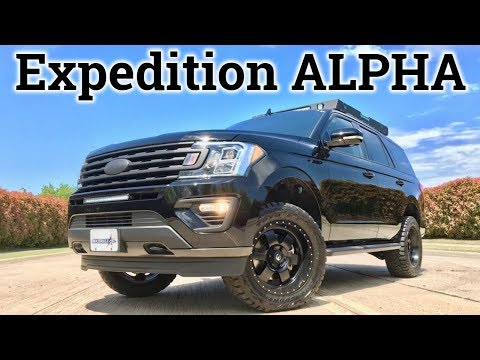 FX4 On STEROIDS   2018 Ford Expedition Alpha