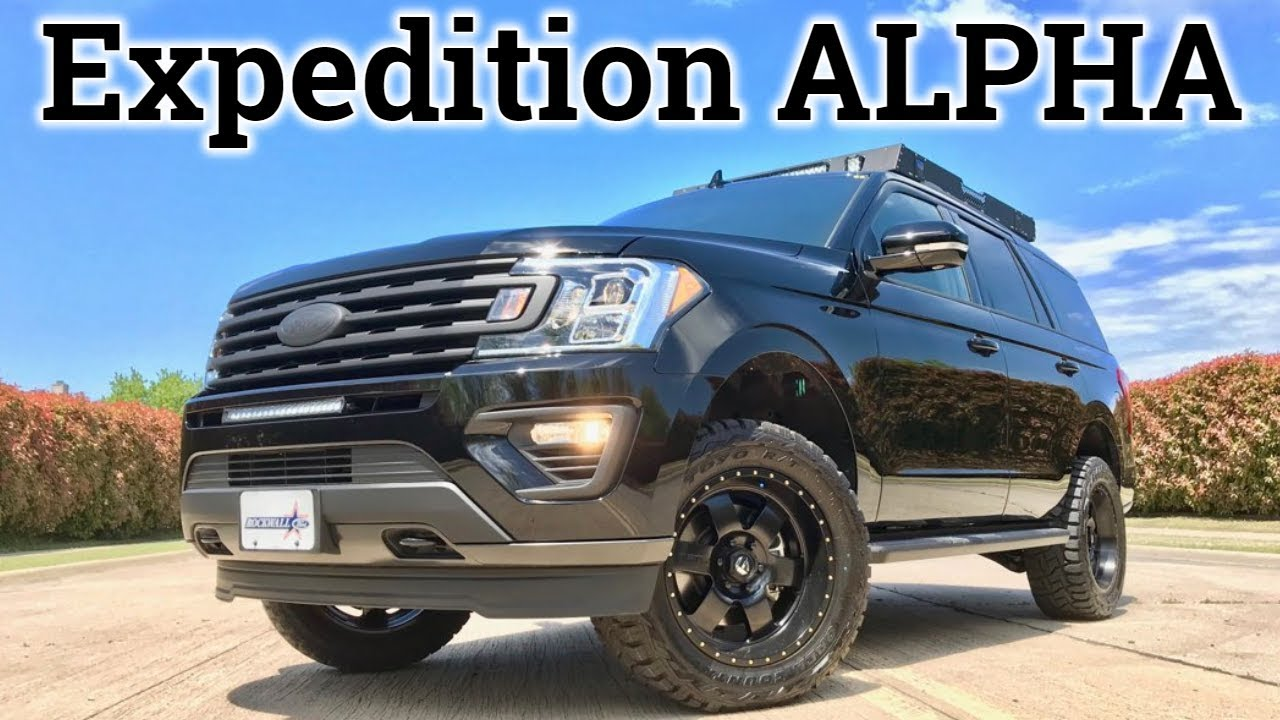 FX4 on Steroids? 2018 Ford Expedition Alpha