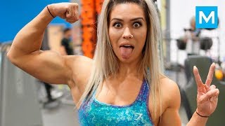 Breaking Stereotypes - Strong is The New SEXY - Cass Martin | Muscle Madness
