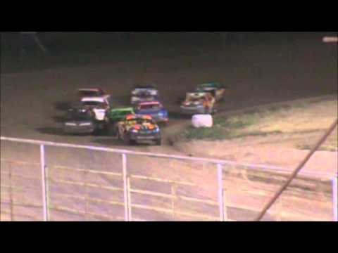 Stock Car Feature - McCook Speedway - 6/8/2012