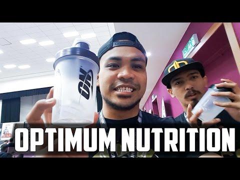 Optimum Nutrition Seminar Malaysia - Steve Cook!