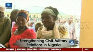 Military Holds Free Medical Outreach To Strengthen Civil Relat…