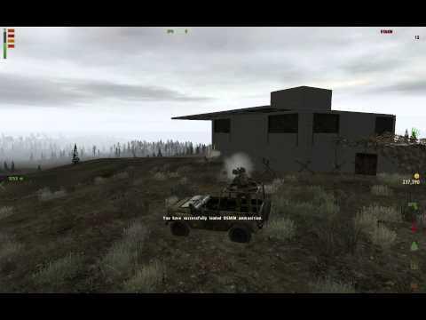 Destroying base with DShKM vehicle (CCG OverPoch Namalsk)