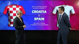 Croatia v Spain - Match Preview