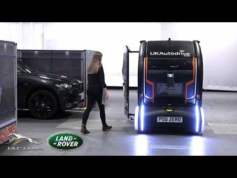 Jaguar Land Rover Projection Pod