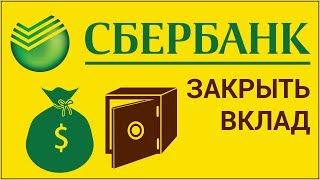 видео Открытие и закрытие вклада через «Сбербанк Онлайн»
