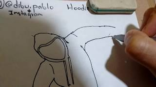 Cómo dibujar a hoodie de los crepypastas /how to draw hoodie from crepypastas