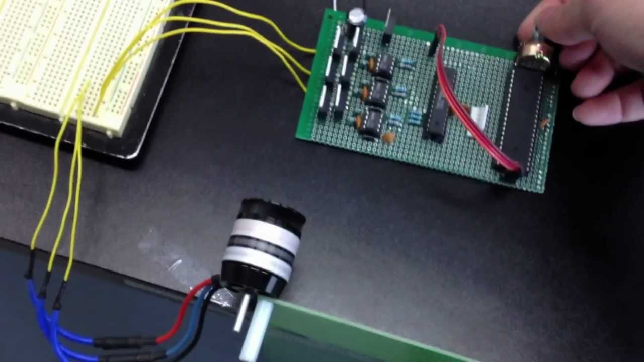 Low cost controller of bldc motor youtube for How to build a motor controller