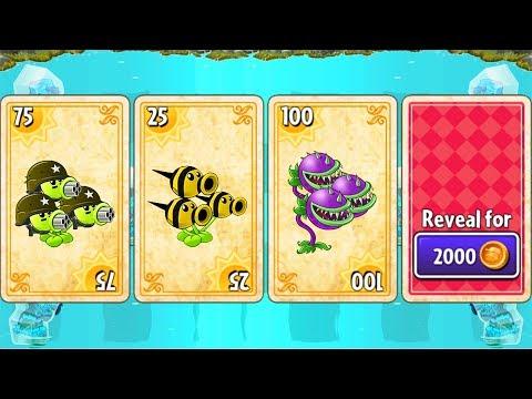 Plants vs Zombies 2 Big Wave Beach - Tiki Torch-er: Level 11-20