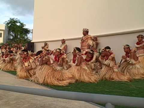 Children of Marshall Islands Dance at Festpac 2016