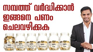 SIX ACCOUNT MONEY MANAGEMENT SYSTEM | FINANCIAL PLANNING MALAYALAM VIDEO |